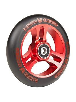 Blazer Pro Rueda para Scooter Individual Triple XT - 110Mm Negro-Rojo (Default, Rojo): Amazon.es: Deportes y aire libre