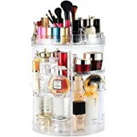 Boxalls Organizador de Maquillaje de Giratorio, Transparentes |