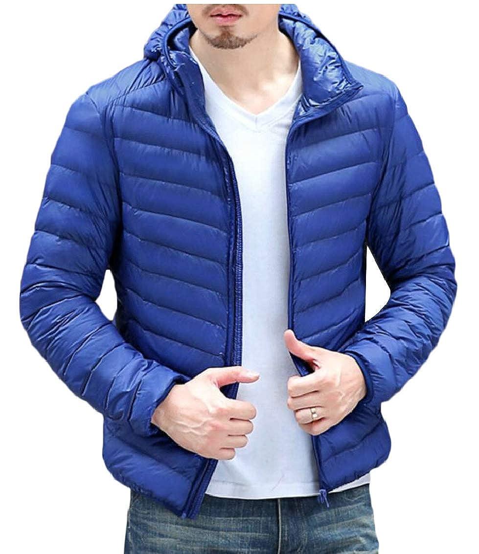 omniscient Men Outwear Puffer Coats Winter Lightweight Packable Down Jacket