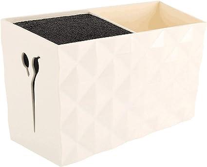 Caja de tijeras de salón profesional para estilista tijeras. Caja de almacenamiento para peines de peluquería: Amazon.es: Belleza