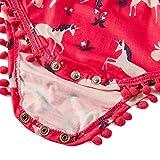 Leapparel Baby Girl Funny Pompom Bodysuits Baby