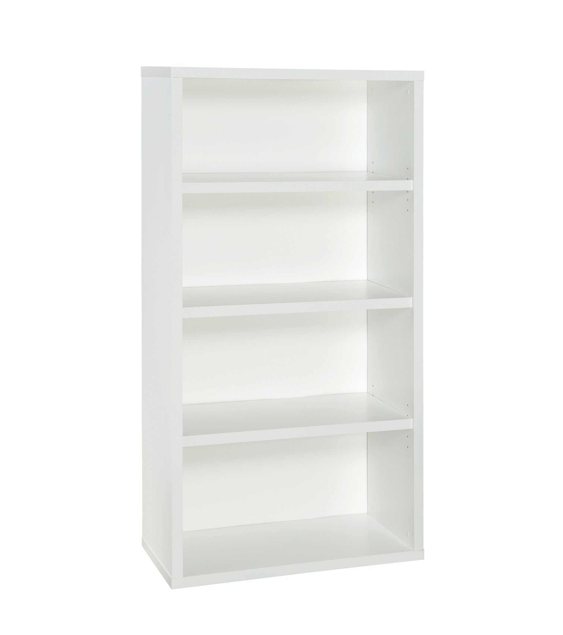 ClosetMaid 13503 Decorative 4-Shelf Premium Bookcase