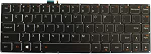 Replacement Keyboard for Lenovo IdeaPad Yoga 3 Pro 13 Laptop with Frame with Backlit NO Frame US Layout