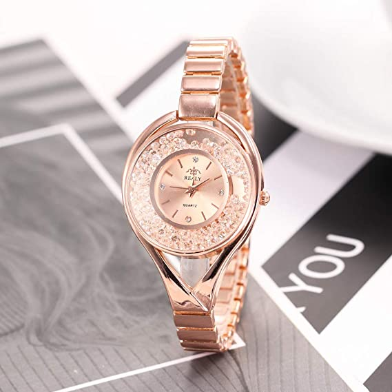 Arena Perforacion Lleno De Moda Relojes Ladies'watches 6gvbfyY7