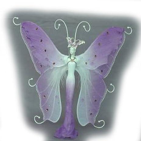 Amazoncom Jewelry Doll Organizer Butterfly Stand Approx 13 Tall
