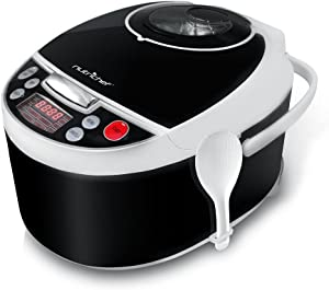 NutriChef Electric Pressure Cooker - Countertop Multi-Cooker with Preset Cooking Modes, Digital Display (PKPRC16)