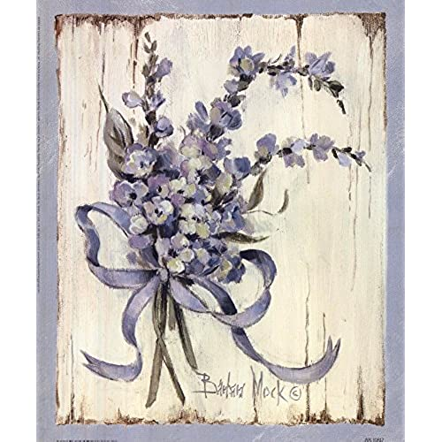 Great Art Now Summer Bouquet Of Blues I By Barbara Mock Art Print, 9 X 11  Inches
