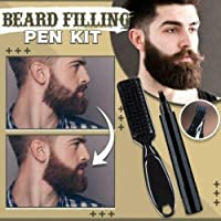 Beard Filling Pen Kit Salon Hair Engraving Styling Eyebrow Tool