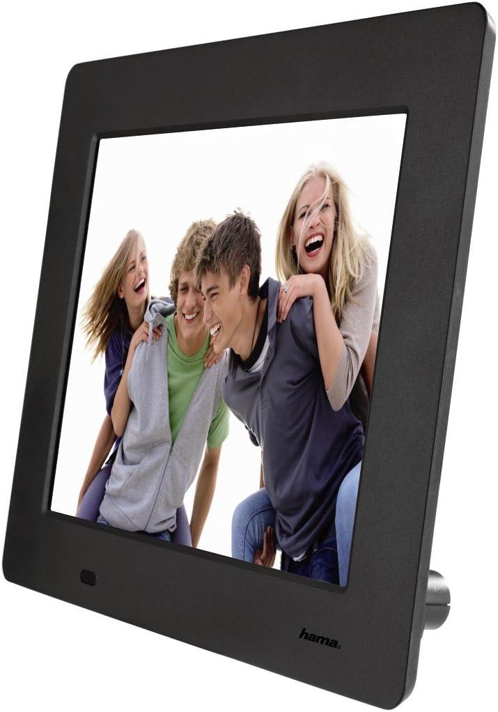 Hama 95228 Slimline Premium Digitaler Bilderrahmen 8 Kamera
