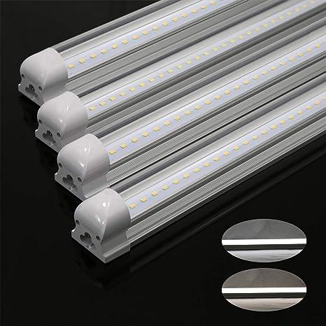 Illuminazione Neon Per Ufficio.Neon Led Tubo Lampada Fluorescente T8 120cm 18w G13 Smd2835 1700lm