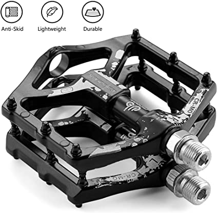 Aluminum Cycling Tools Bicycle Pedals Bike Loop Pedal Aluminum Alloy Pedal