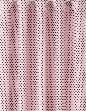 Amazon Pottery Barn Kids Audrey Chenille Chocolate Brown And Pink Polka Dots Fully Lined With Blackout Drapes Pole Pocket 44 X 84 2 Panels Home