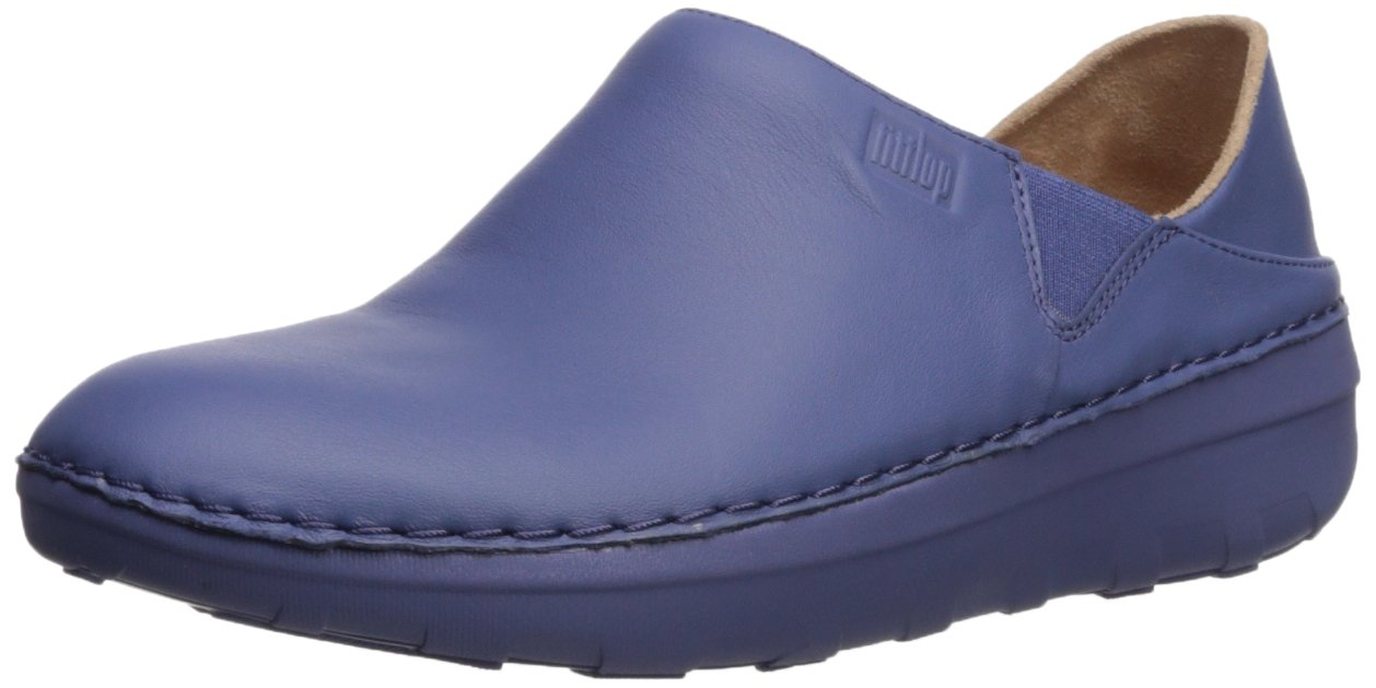 FitFlop レディース Superloafer B076H7TSBF 8 B(M) US|Indian Blue Indian Blue 8 B(M) US