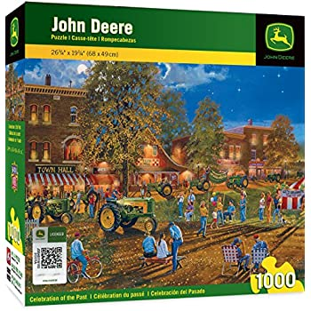 MasterPieces John Deere Celebration of the Past - Tractor 30 Series Tractor 1000 Piece Jigsaw Puzzle by Dave Barnhouse