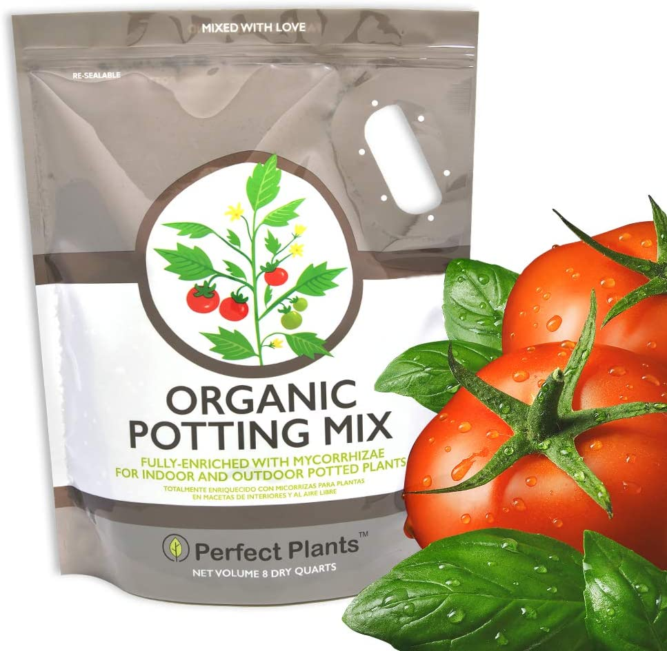 Organic Potting Mix by Perfect Plants for All Plant Types