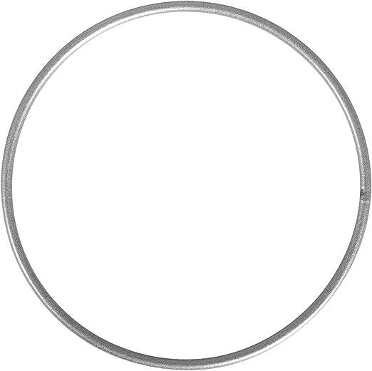Royaume-Uni disponibilité répliques pas cher à vendre Rayher 2505022 Cercle Nu Métal – DIY Attrapes-rêves & Abat-Jour, 10 cm –  Argent