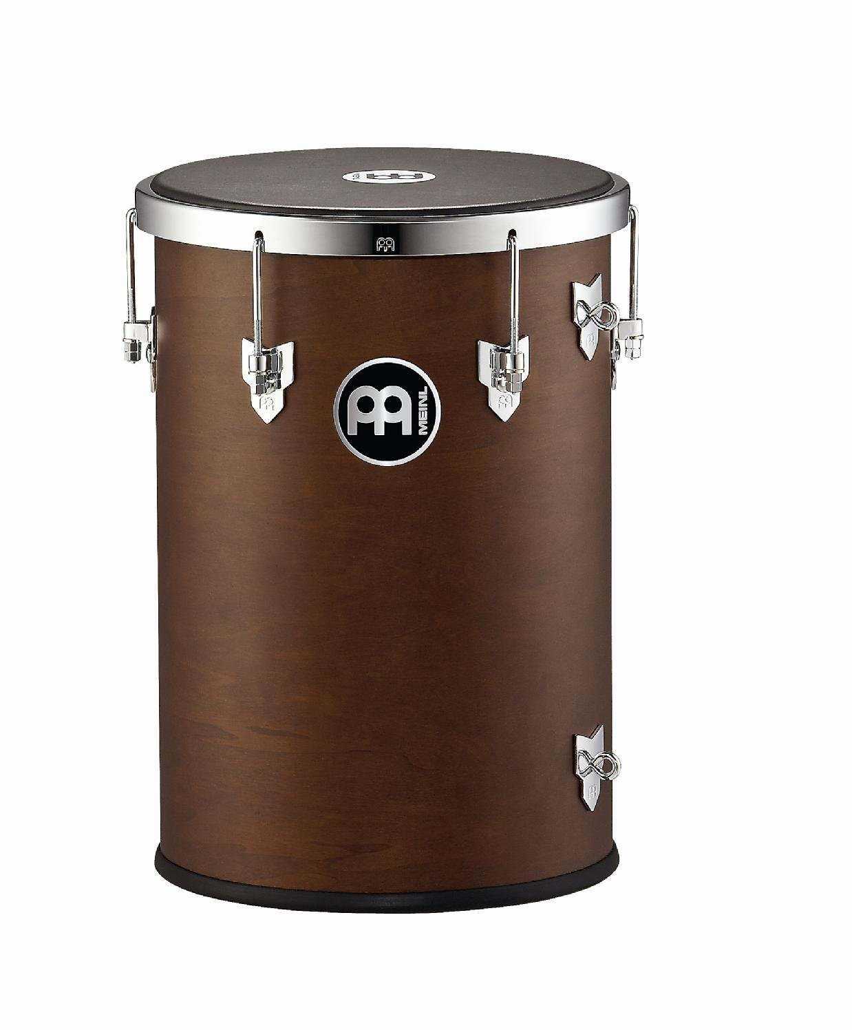 Meinl Percussion REB1218AB-M 12-Inch Rubber Wood Rebolo with Napa Head, African Brown