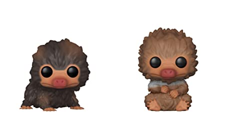 Funko Pop Movies: Fantastic Beasts 2 Crimes Of Grindelwald   Baby Niffler (Brown And Tan) 2 Pack by Fun Ko