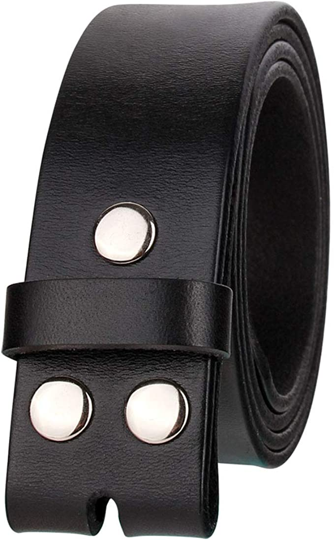 Barbed Wire Skull Leather Belt