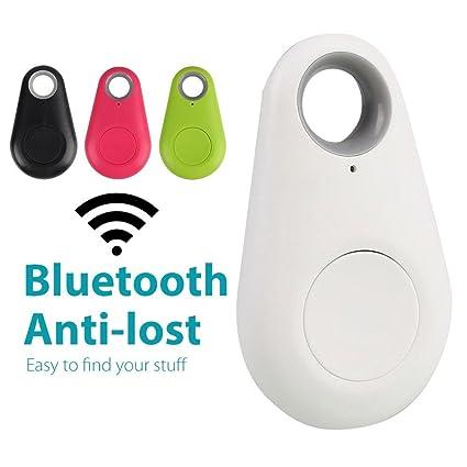 springdoit Blue-Tooth Smart Localizador de rastreo por GPS Rastreador de Mascotas Alarma para Coche