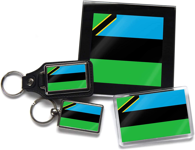 Flag of Zanzibar National Colours Strong Acrylic Fridge Magnet Home Decor