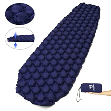 Amazon.com: Bessport Sleeping Pad – Ultralight Inflatable ...