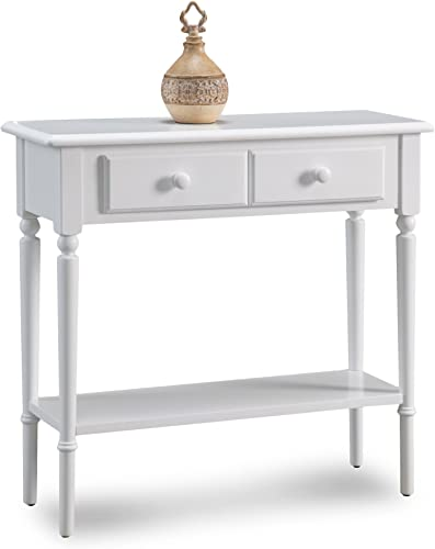 Leick Coastal Narrow Hall Stand/Sofa Table