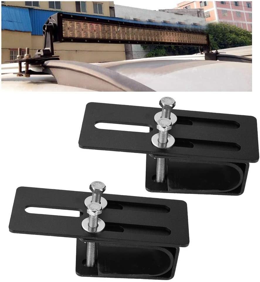 Led Spotlight Clip Car Light Rack Non-Slip and Durable Car Roof Rack Light Brackets