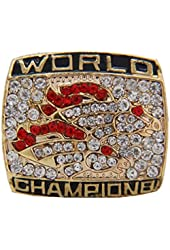 1998 Denver Broncos Super Bowl Cincin Juara Championship Ring Sports Jewelry Size Big 11 Men Sports Jewelry