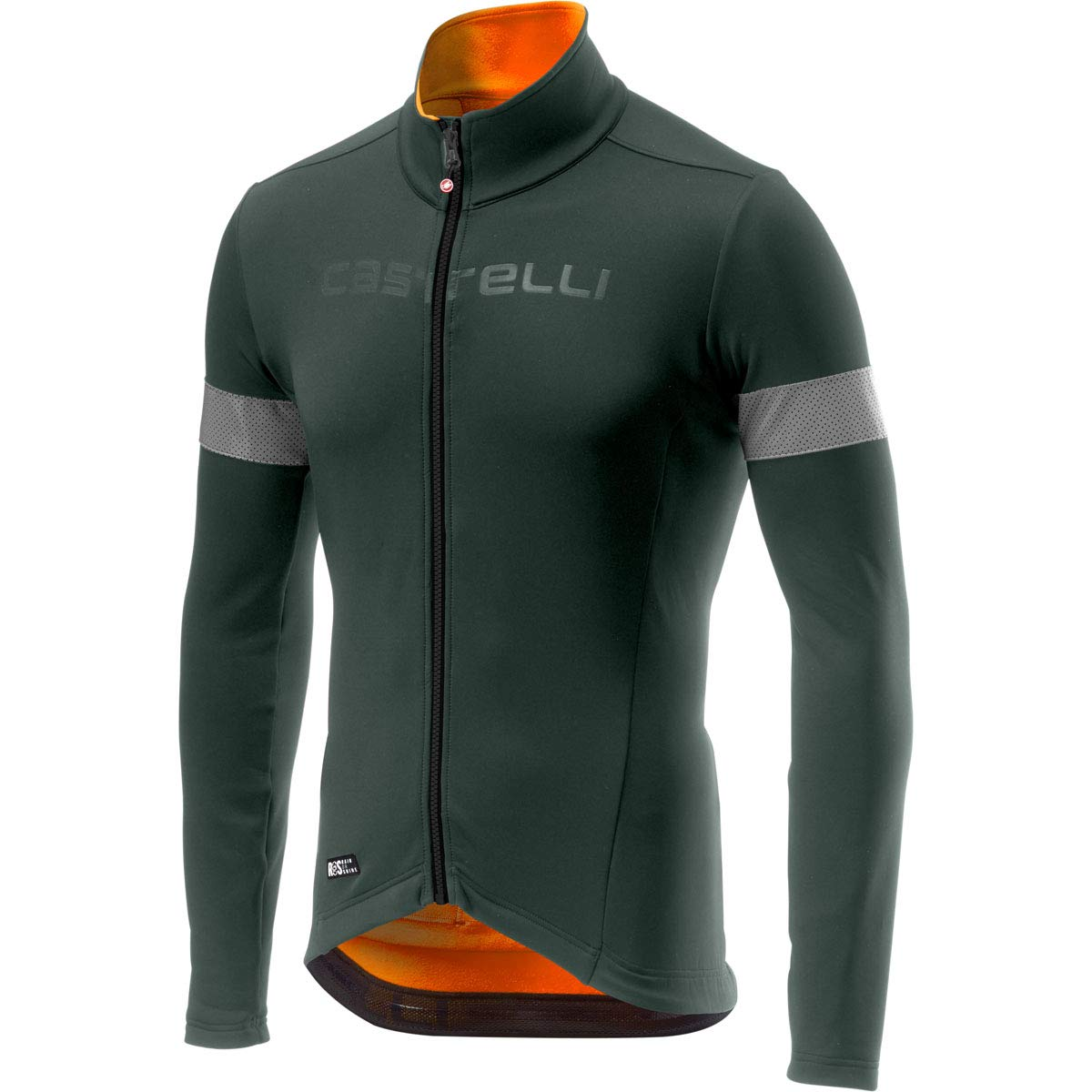 Castelli Nelmezzo ROS ジャージ XX-Large forest gray/orange B07H8QBW9Q
