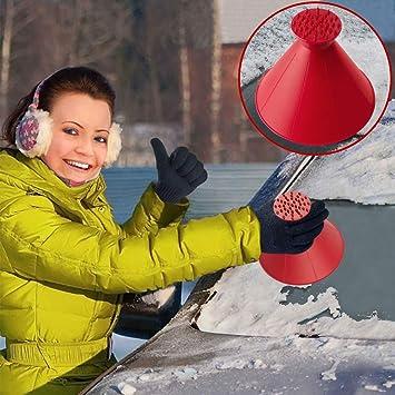 Grattoir /à glace Mini voiture grattoir /à neige pelles en acier inoxydable pare-brise automatique fen/être grattoir /à glace raclette outil de brosse de d/éneigement #Pennytupu