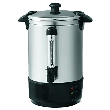 Global Gourmet 8.8 Litre (35 Cups) Stainless Steel Catering Hot ...