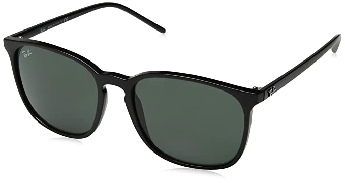 Ray-Ban 0RB4387 Gafas de sol, Black, 55 para Hombre: Amazon ...