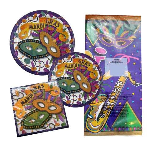 Mardi Gras Plastic Tablecloth, 84