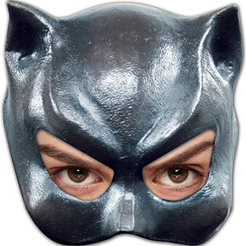 [Cat Girl Half Mask] (Latex Catwoman Costumes)