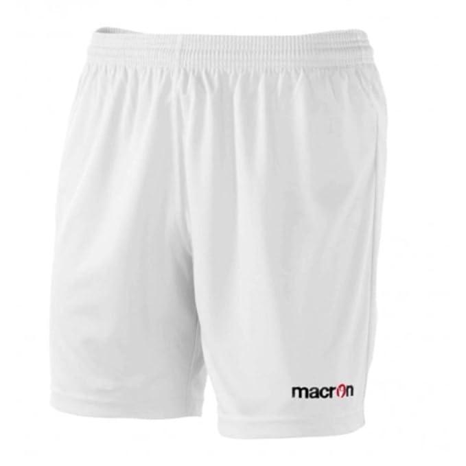 miglior servizio b41fa 0d0a6 Calzoncini Corti Uomo Pantaloncini da Calcio Calcetto Macron Mesa Shorts  Bermuda