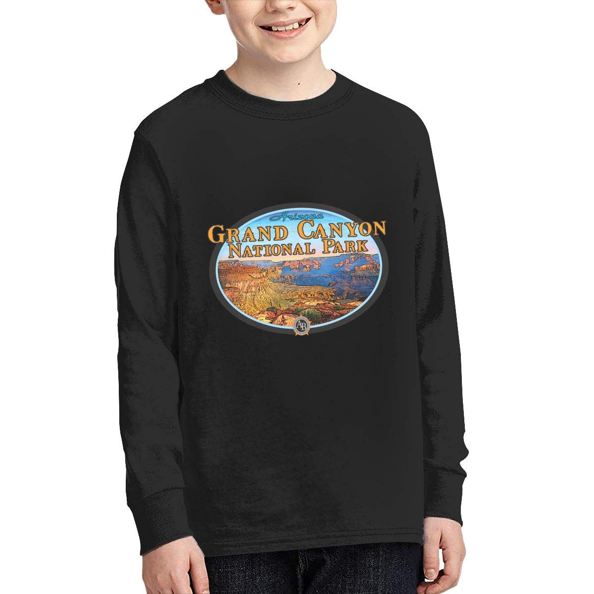 Grand Canyon National Park Logo Teen Boy Girl Sport Pullover Sweatshirt Funny Shirt
