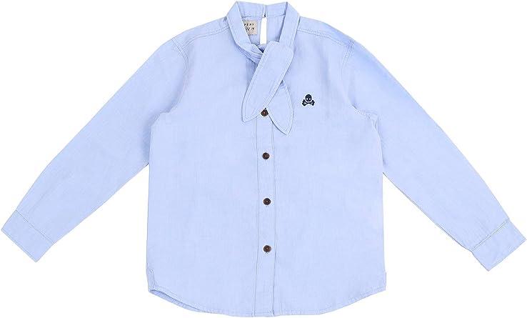 Scalpers Camisa Lazada Cuello: Amazon.es: Ropa y accesorios