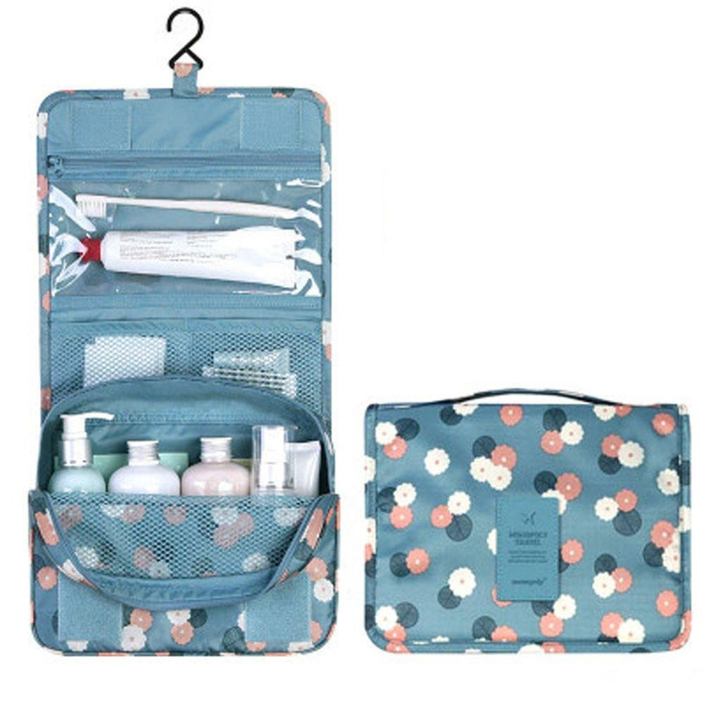 c8d0a9f15e96 YJYdada Travel Portable Toiletry Wash Cosmetic Bag Makeup Storage Bag (A)  low-cost