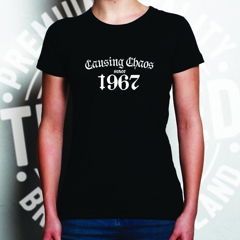 1967 Year Birthday Anniversary Womens Ladies Funny Slogan T-Shirt