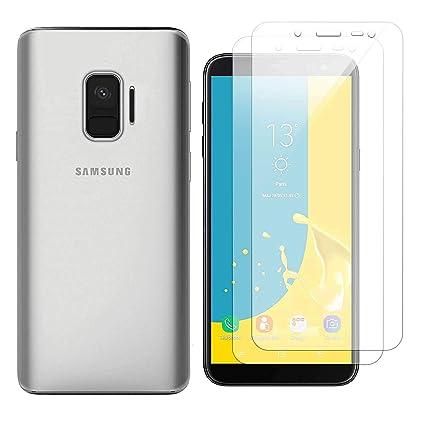 Funda Samsung Galaxy J6 Plus Transparente Suave TPU Silicona Anti-rasguños Protector Trasero Carcasa para Samsung Galaxy J6 Plus 2018 (6.0 Pulgada) ...