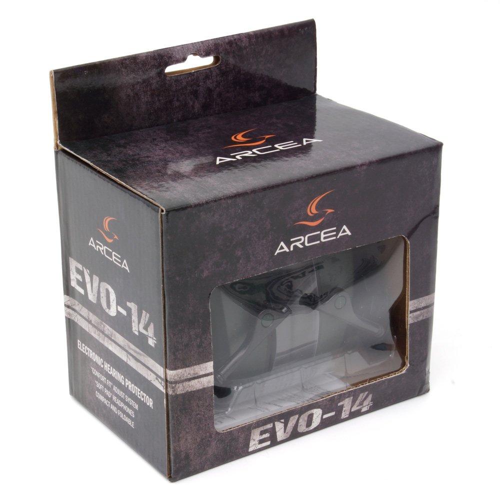 Arcea EVO 14 Cascos Electrónicos, Verde Caza, Talla Única: Amazon.es: Deportes y aire libre