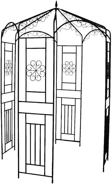 Arco Jardin, Hierro Arco De Rosas Fácil De Montar Decoracion ...