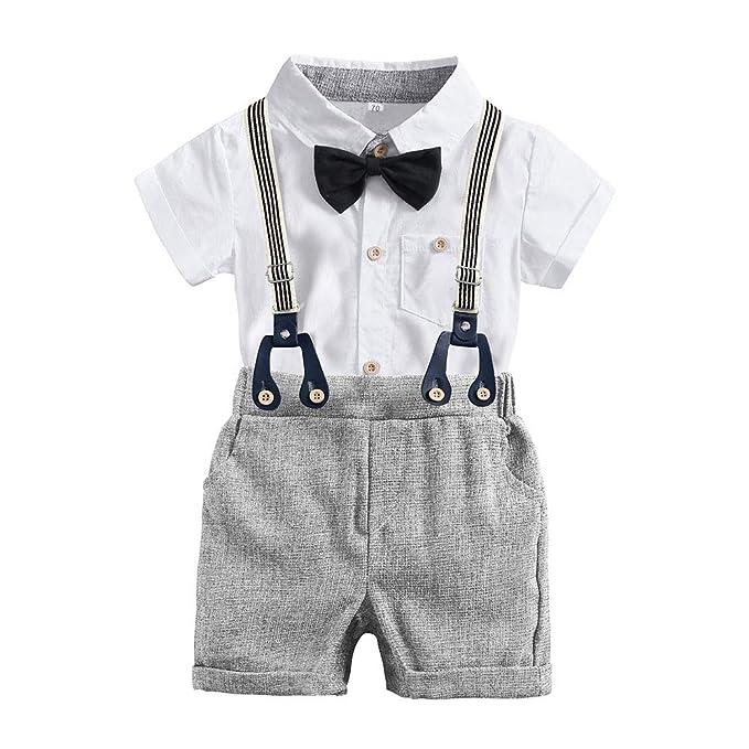 Amazon.com: Conjunto de ropa de bebé para caballero con ...