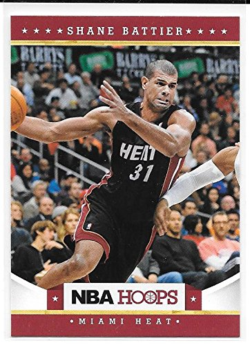 Shane Battier 2012-13 NBA Hoops Miami Heat Card #162
