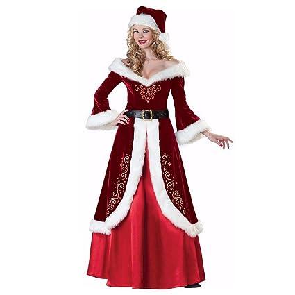 SDLRYF Disfraz De Papá Noel Bar Disfraces Navidad Hombres Y ...