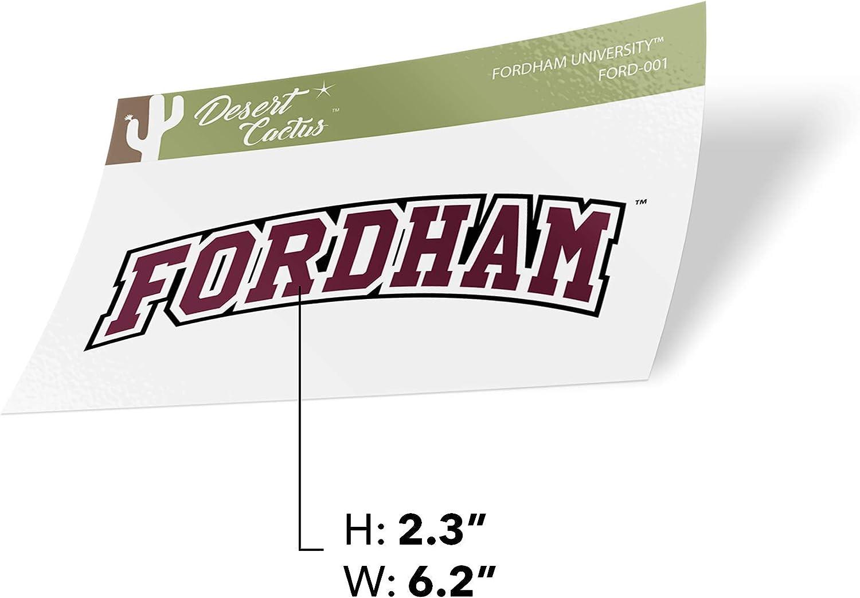 Fordham University FU Rams NCAA Vinyl Decal Laptop Water Bottle Car Scrapbook Sticker - 001