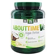 SDC Nutrition About Time Ve Vegan Protein Powder, Vanilla, 2 Pound