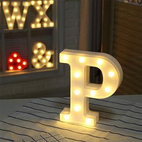 Amazon.com: Letras iluminadas, letras de la marquea, luces ...