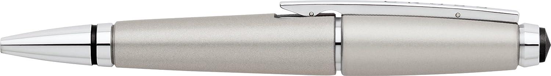 Cross Edge - Bolígrafo roller, color gris: Amazon.es: Oficina y papelería